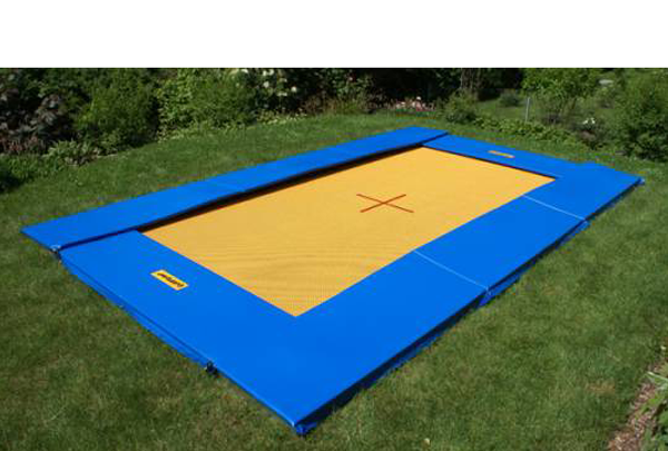 Bodentrampolin Eurotramp Grand Master 525x310 cm